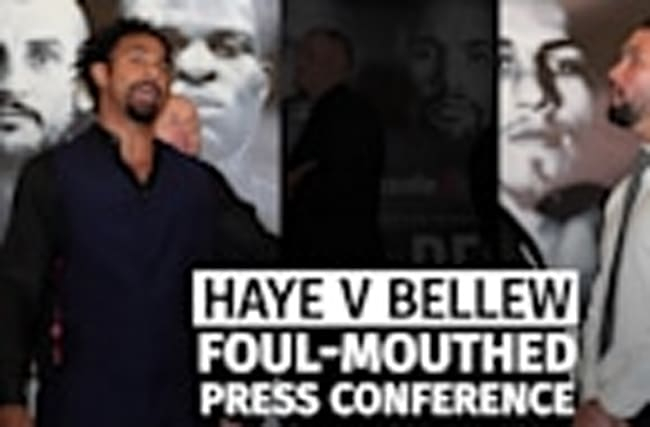 David Haye launches into expletive-laden verbal attack on Tony Bellew