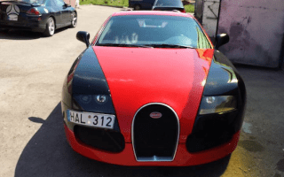 This Bugatti replica is not fooling anyone