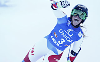 Magnificent Gut wins Lienz giant slalom, woe for Vonn