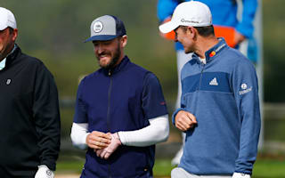 Justin Timberlake shows off golfing talent
