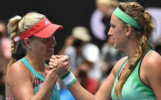 Kerber must welcome Australian Open pressure - Azarenka