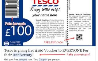 Beware of these fake supermarket vouchers