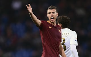 Dzeko feels Roma fans are waiting to insult him