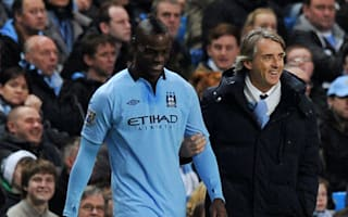Mancini: Balotelli has wasted years but can bounce back