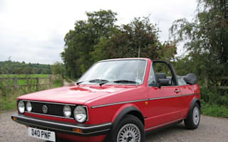 Mk1 Golf Cabriolet still classy after 24 years