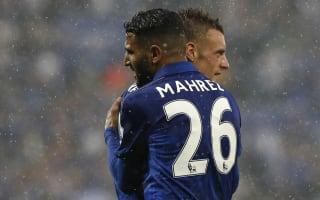 Ranieri holds crisis talks with Mahrez and Vardy