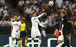 Tottenham a match for anyone in Champions League, insists Alli