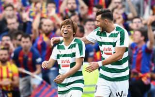 Japan international Inui makes history with Barcelona goal