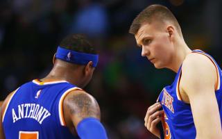 Anthony to Knicks fans: Don't pressure Porzingis