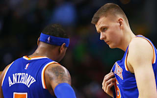 Anthony to Knicks fans: Don't pressure Porzingis