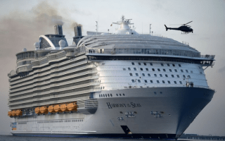 Lifeboat falls from cruise ship: One dead, four injured