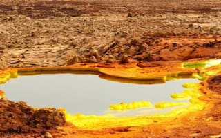 The world's most inhospitable place looks like another planet