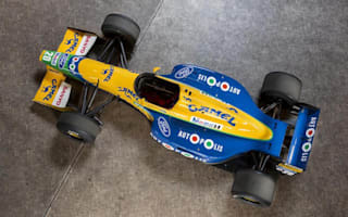 F1 champion Michael Schumacher's old F1 car up for auction