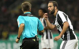 Allegri defends Higuain's form ahead of Napoli return