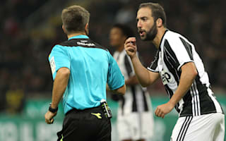 Allegri defends Higuain's form ahead of Napoli return