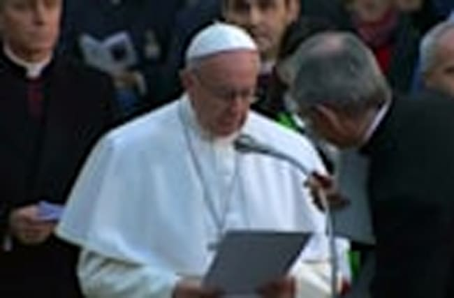 Pope offers prayers for the abandoned