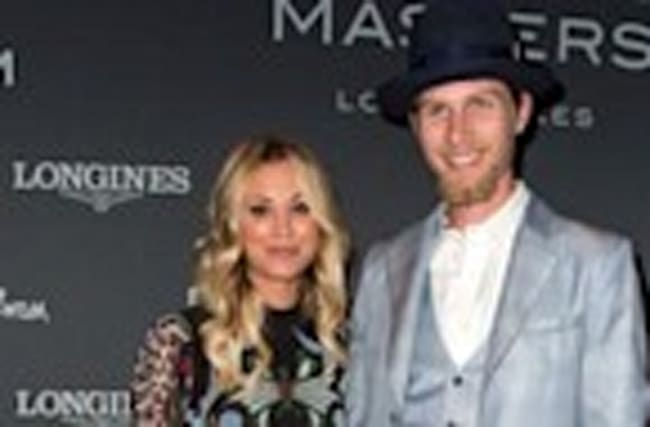 Kaley Cuoco and Boyfriend Karl Cook Make Their Red Carpet Debut -- See the Cute Pics!