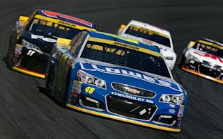 Johnson wins as five Chase contenders stumble