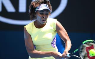 Williams sisters skip doubles as Venus battles elbow injury
