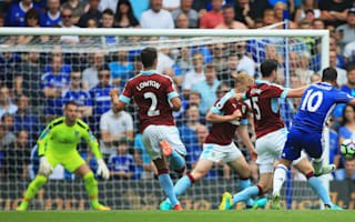 Chelsea 3 Burnley 0: Hazard shines in dominant win