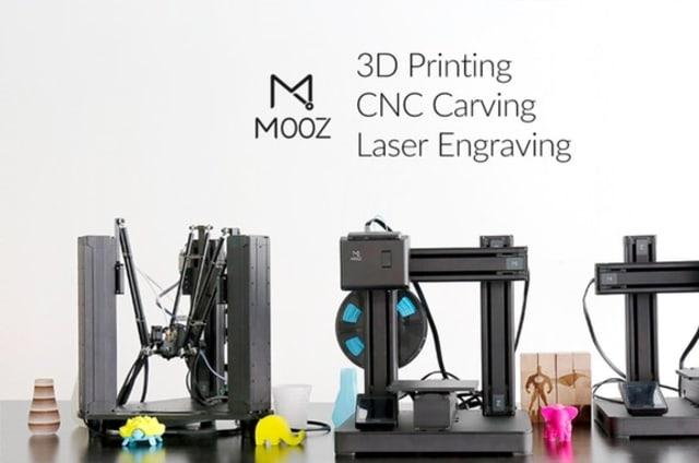 MOOZ es una impresora 3D multifunción que podrás comprar por 330 euros