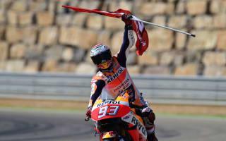 Marquez credits rhythm for Aragon win