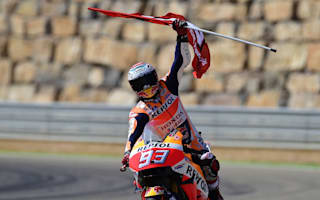 Marquez credits rhythm for Aragon win