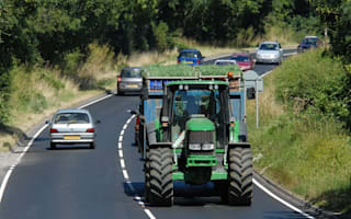 Tractor driver fined for causing half-mile tailback