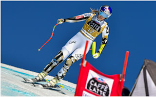 Vonn crashes at Crans-Montana, Jansrud extends downhill lead