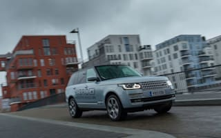 Prototype First Drive: Range Rover Hybrid
