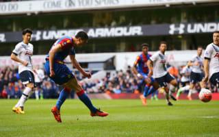 Tottenham Hotspur 0 Crystal Palace 1: Kelly books quarter-final spot for Pardew's men