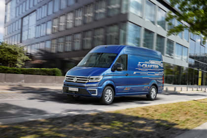 Volkswagen reveal new e-Crafter