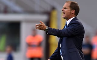 De Boer calls for patience at Inter