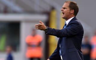 De Boer calls for patience at Inter