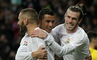 Neymar in awe of Real Madrid's BBC trio