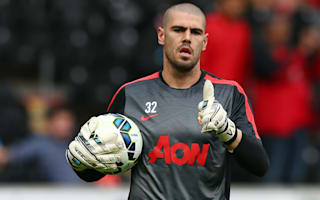 Valdes thanks Manchester United ahead of exit