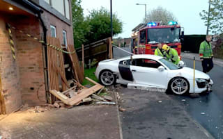 Drink-drive teen crashed dad's Audi R8