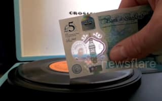 New £5 can play vinyl records