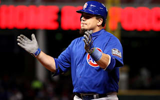 Cubs slugger Schwarber not cleared for outfield play