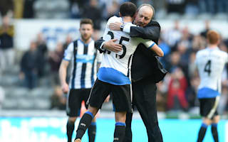 Benitez salutes Newcastle 'heroes' Townsend and Darlow