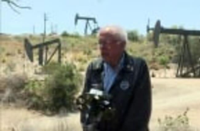 """Sanders: """"We have got to end fracking"""""""