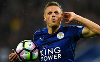 Leicester City 2 Swansea City 1: Vardy and Morgan give champions first win