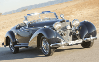 Rare Mercedes 540 K Roadster sells for more than £5million