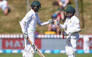 Shakib double century and Mushfiqur ton help Bangladesh dominate