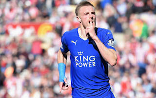 Vardy marvels at Leicester's finest hour