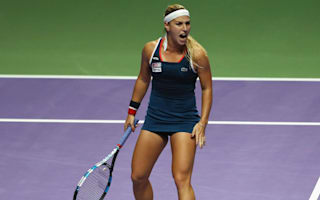 Stunning Cibulkova takes WTA Finals crown
