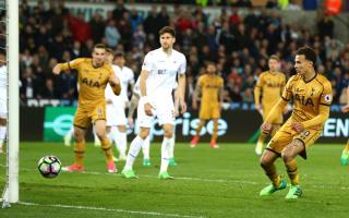Swansea City 1 Tottenham 3: Alli inspires dramatic victory