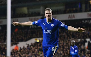 Tottenham 0 Leicester City 1: Huth's late show sends visitors joint top