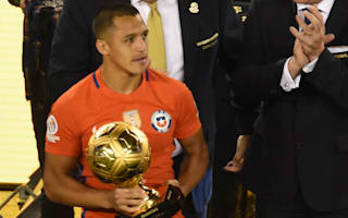 Sanchez crowned Copa's best as champions Chile sweep awards