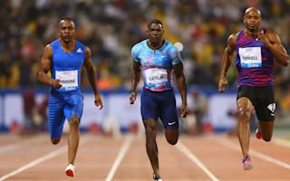 Gatlin, De Grasse and Powell upstaged by Simbine